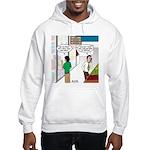 Men Shopping Hooded Sweatshirt