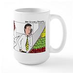 Men Shopping Large Mug