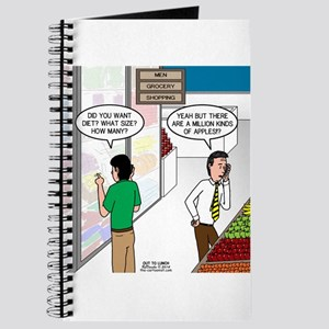 Men Shopping Journal