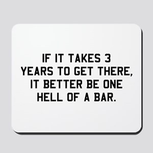 Bar exam Mousepad