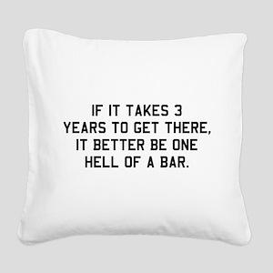 Bar exam Square Canvas Pillow