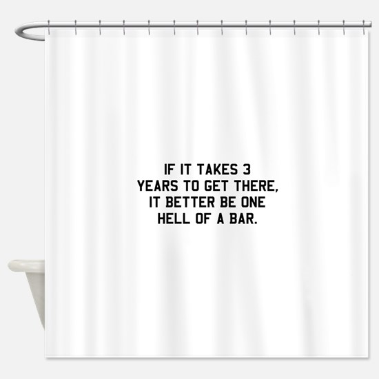 Bar exam Shower Curtain