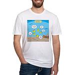 Fish School Break Fitted T-Shirt