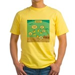 Fish School Break Yellow T-Shirt
