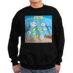 Fish School Break Sweatshirt (dark)