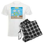 Fish School Break Men's Light Pajamas