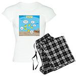 Fish School Break Women's Light Pajamas