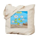 Fish School Break Tote Bag