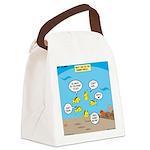 Fish School Break Canvas Lunch Bag