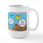 Fish School Break Large Mug