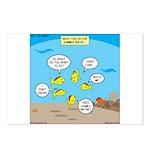 Fish School Break Postcards (Package of 8)