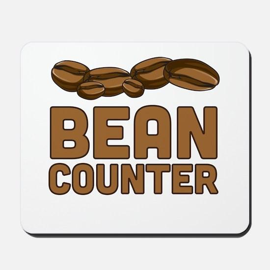 Bean counter Mousepad