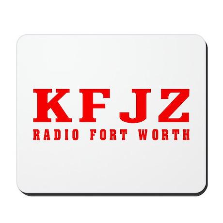 KFJZ Ft Worth '62 - Mousepad