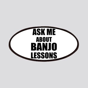 Ask me about Banjo lessons Patches