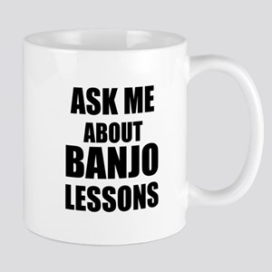 Ask me about Banjo lessons Mugs