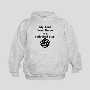 My Aunt Is A Volleyball Star (Custom) Hoodie