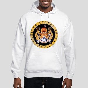 Personalized Uss America Cv-66 Hooded Sweatshirt
