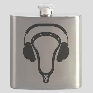 Lacrosse Headphones Flask