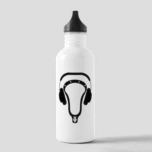 Lacrosse Headphones Water Bottle