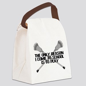 Lacrosse Only Reason Canvas Lunch Bag