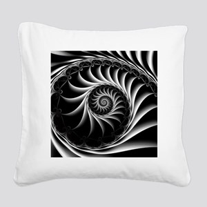 Turbine Square Canvas Pillow