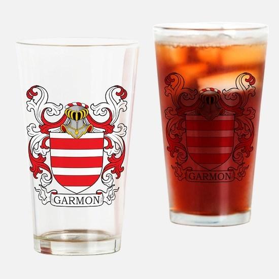 Garmon Family Crest Drinking Glass