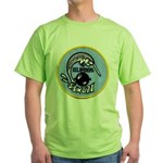 USS NARWHAL Green T-Shirt