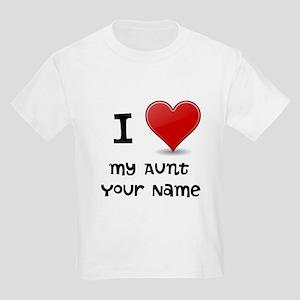 I Heart My Aunt (Custom) T-Shirt
