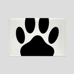 Dog Pawprint Magnets