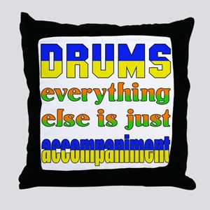 Electric Guitar everything else is ju Throw Pillow