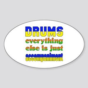 Electric Guitar everything else is Sticker (Oval)