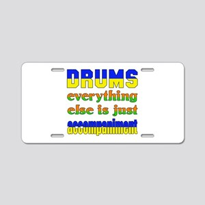 Electric Guitar everything Aluminum License Plate