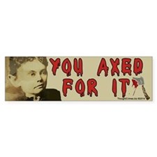Lizzie Borden Bumper Sticker