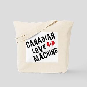 Canadian Love Machine Tote Bag