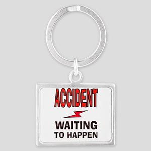 ACCIDENT Keychains