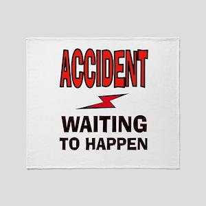 ACCIDENT Throw Blanket