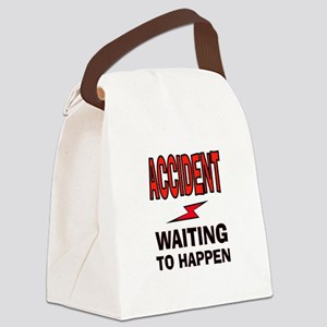 ACCIDENT Canvas Lunch Bag