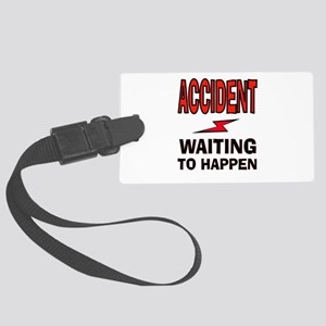 ACCIDENT Luggage Tag