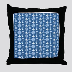 Sailors Dream Nautical Throw Pillow