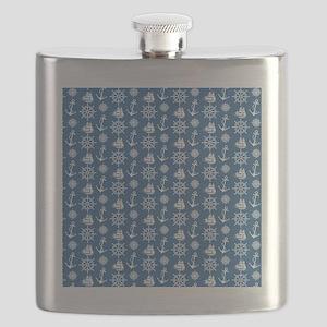 Sailors Dream Nautical Flask