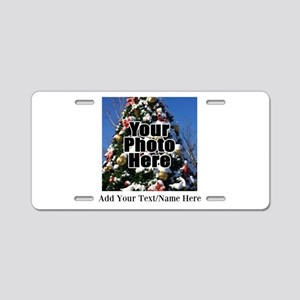 Custom Personalized Color Photo and Text Aluminum