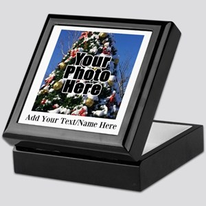Custom Personalized Color Photo and Text Keepsake