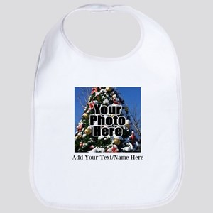 Custom Personalized Color Photo and Text Bib