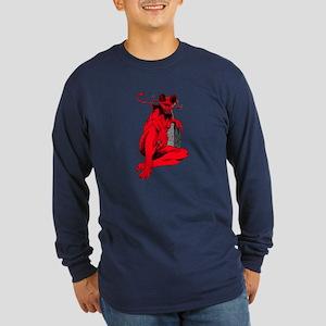 Lucifer Long Sleeve Dark T-Shirt