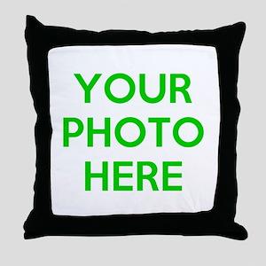 Customize photos Throw Pillow