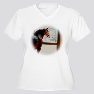 clydesdaleCLOCK Plus Size T-Shirt