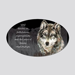 Wolf Totem Animal Spirit Guide for Inspiration Dec