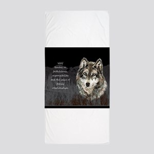 Wolf Totem Animal Spirit Guide for Inspiration Bea