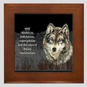 Wolf Totem Animal Spirit Guide for Inspiration Fra