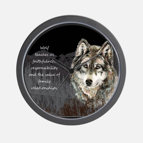 Wolf Totem Animal Spirit Guide for Inspiration Wal